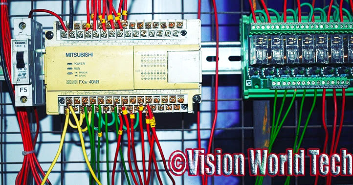 PLC Control Panel in Industry