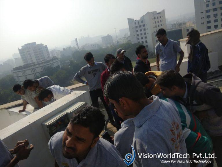 Solar Training at Vision world tech
