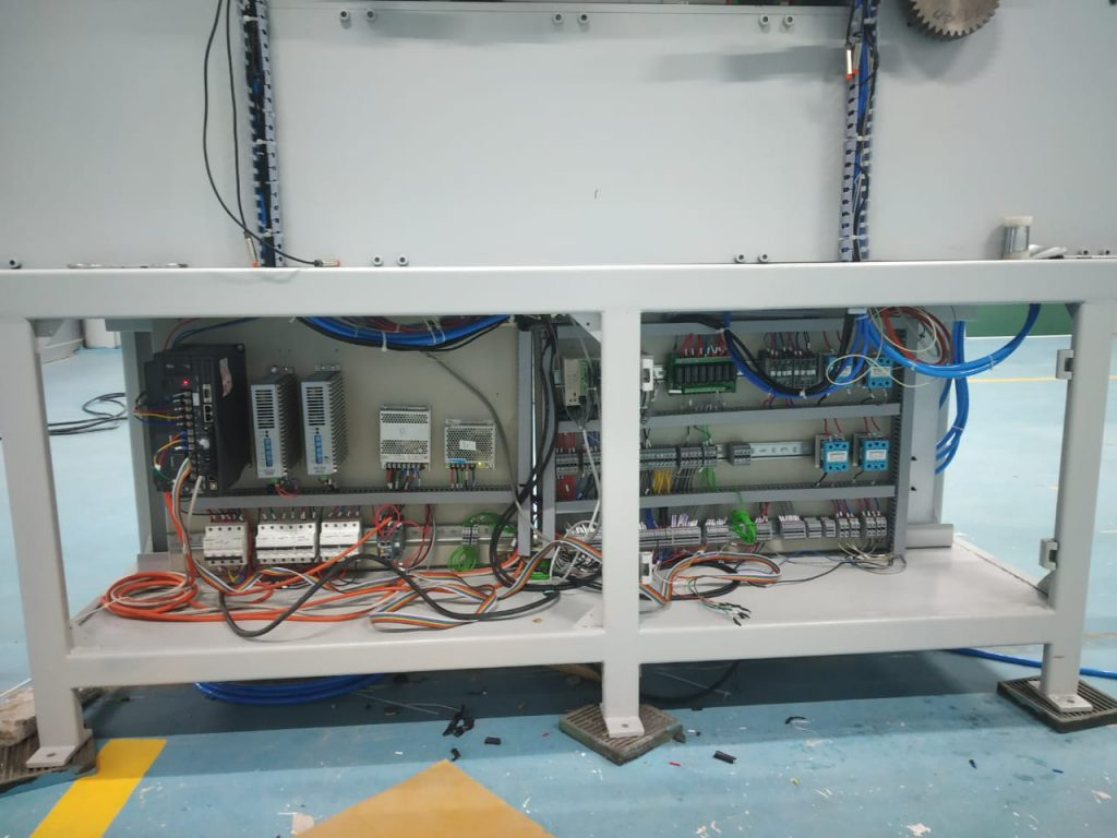Industrial panel for Machine Automation