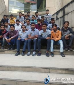 Solar Industrial Visit by Vision World Tech
