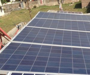 Solar Setup at Vision World Tech